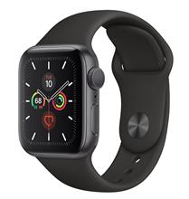 Apple Watch 5 GPS 40mm Space Gray Aluminum Case With Black Sport Band